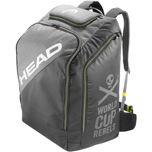 헤드 17/18 [HEAD] REBELS RACING BACKPACK S GREY/NEON YELLOW 36.0L