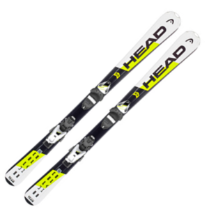 18/19 HEAD Supershape Team SLR 2 117 - 157 cm + SLR 7.5 AC BRAKE 78 [H] WHITE/BLACK