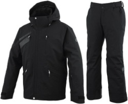 [19/20] ONYONE TEAM OUTER JACKET/PANTS ONP92450 BLACK