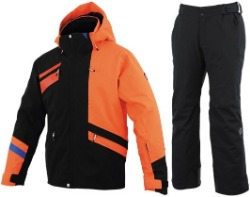 [19/20] ONYONE TEAM OUTER F.ORANGE JACKET + BLACK PANTS ONP92450
